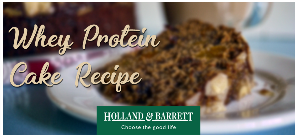 Whey Protein Cake in 90 Seconds