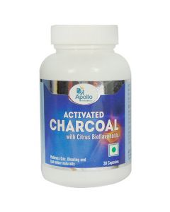 Apollo Pharmacy Activated Charcoal Capsules 30's