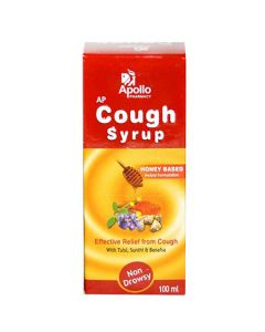 Apollo Pharmacy Cough Syrup Non Drowsy 100ml