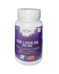 Apollo Life Cod Liver Oil 300MG Softgels 100's