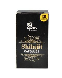 Apollo Pharmacy Shilajit Capsules 30's