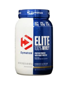 Dymatize Elite Whey Cookies And Cream 2lbs