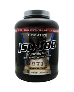 Dymatize Iso-100 Cookies & Cream 5lbs
