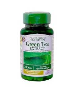 Nature's Garden Green Tea Extract 315mg 200 Tablets