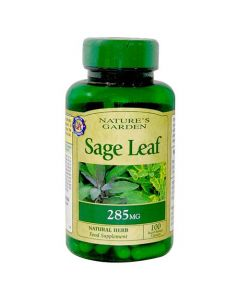 Nature's Garden Sage Leaf 285mg 100 Capsules
