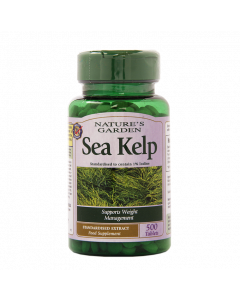 Nature's Garden Sea Kelp 15mg 500 Tablets