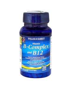 Holland & Barrett Vitamin B Complex And B12 250 Tablets
