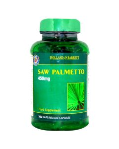 Holland & Barrett Saw Palmetto 450mg 200 Capsules