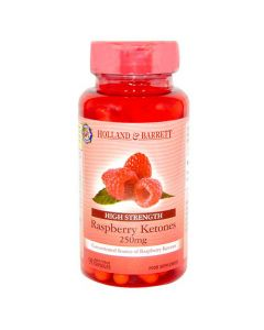 Holland & Barrett Raspberry Ketones 250mg 90 Capsules