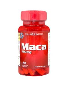 Holland & Barrett Maca 500mg 60 Capsules