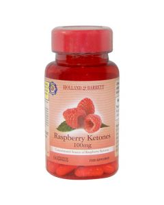 Holland & Barrett Raspberry Ketones 100mg 60 Capsules