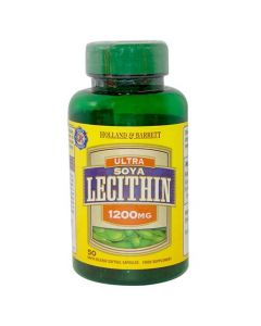 Holland & Barrett Ultra Soya Lecithin 1200mg 50 Capsules