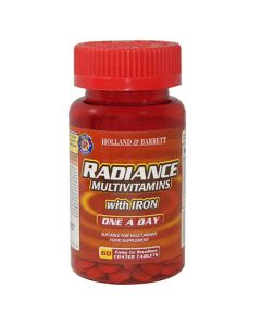 Holland & Barrett, Radiance, Multi Vitamins, Iron, 60 Tablets