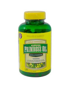 Holland & Barrett Evening Primrose Oil Cold pressed 1300mg with Vitamin B6 Capsules