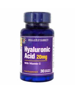 Holland & Barrett Hyaluronic Acid 20 mg With Vitamin C 30 Capsules