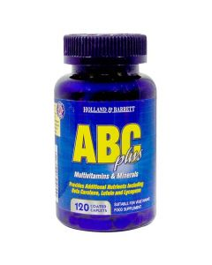 Holland & Barrett ABC Plus Multivitamins & Minerals 120 Caplets