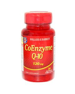 Holland & Barrett Coenzyme Q-10 120mg 30 Capsules
