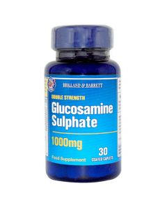 H&B Double Strength Glucosamine Sulphate 1000mg 30 Caplets