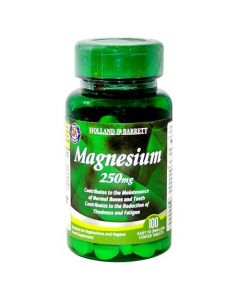 Holland & Barrett Magnesium 250mg 100 Tablets