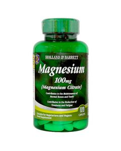 Holland & Barrett Magnesium Citrate 100mg 100 Caplets