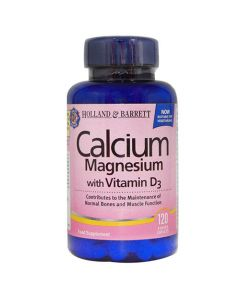 Holland & Barrett Calcium Magnesium With Vitamin D3 120 Caplets
