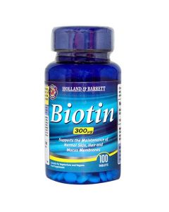 Holland & Barrett Biotin 300ug 100 Tablets