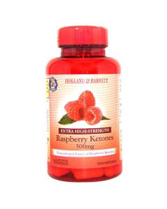 Holland & Barrett Raspberry Ketones 500mg 90 Capsules