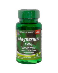 Holland & Barrett Magnesium 150mg 30 Caplets