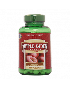 Holland & Barrett Apple Cider Vinegar 300mg 200 Tablets