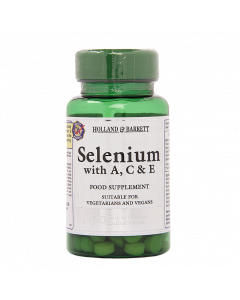Holland & Barrett Selenium with A C & E 90 Tablets
