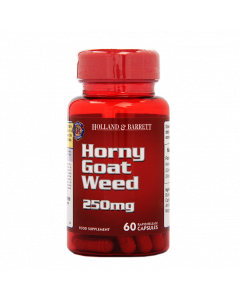 Holland & Barrett Horny Goat Weed 250mg 60 Capsules