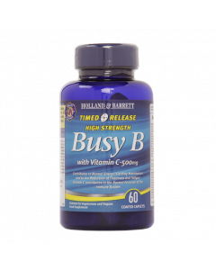 Holland & Barrett Busy B Complex, Vitamin C, 500mg, 60 Caplets