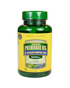 Holland & Barrett Evening Primrose Oil Starflower Oil 1000mg 90 Capsules