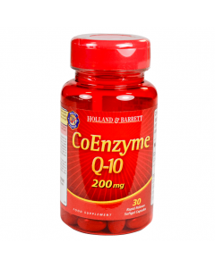 Holland & Barrett CoEnzyme Q-10 200mg 30 Capsules