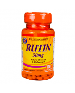 Holland & Barrett Rutin 50mg 100 Tablets
