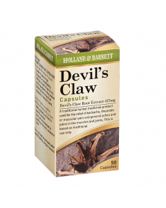 Holland & Barrett Devils Claw Root Extract 427mg 50 Capsules