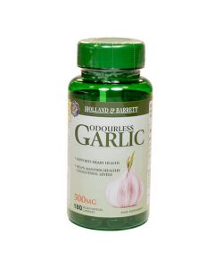 Holland & Barrett Odourless Garlic Vegan 500mg 180 Capsules