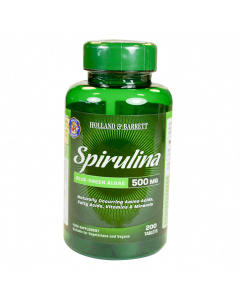 Holland & Barrett Spirulina 500mg 200 Tablets