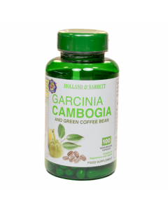 Holland & Barrett Garcinia Cambogia & Green Coffee Bean 100 Capsules