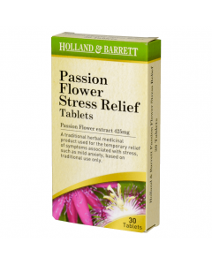 Holland & Barrett Stress Relief Passionflower 30 Tablets