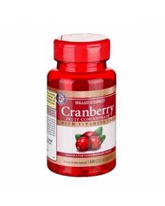 Holland & Barrett Cranberry Fruit Concentrate, Vitamins C & E, 100 Tablets