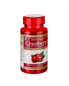 Holland & Barrett Cranberry Fruit Concentrate Vitamins C & E 250 Tablets