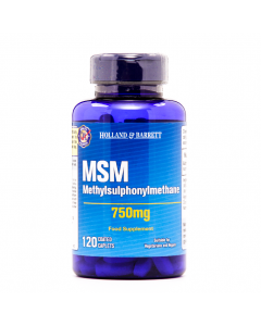 Holland & Barrett MSM, 750mg, 120 Caplets
