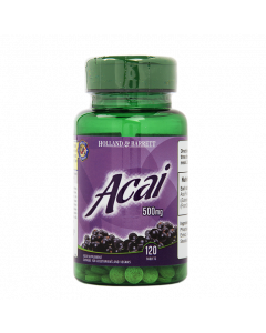 Holland & Barrett Acai Berry 500mg 120 Tablets