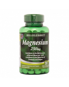 Holland & Barrett Magnesium, 250mg, 200 Tablets