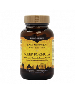 Holland & Barrett East Meets West Sleep Formula 60 Capsules