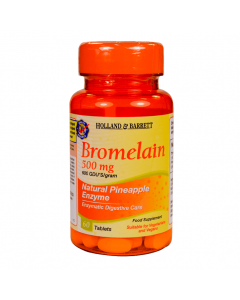 Holland & Barrett Bromelain 500mg 60 Tablets