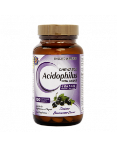 Holland & Barrett Chewable Acidophilus with Bifidus Blackcurrent 100 Tablets