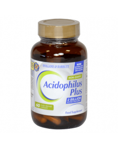 Holland & Barrett Acidophilus Plus Non Dairy 60 Capsules