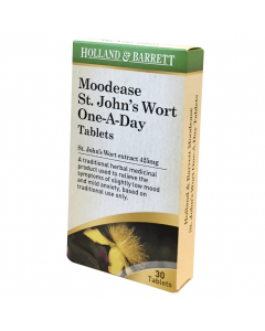 Holland & Barrett Moodease St. John's Wort Extract 425mg One-A-Day 30 Tablets